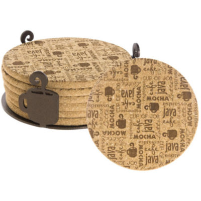 Thirstystone® Coffee Break Cork Coasters Gift Set