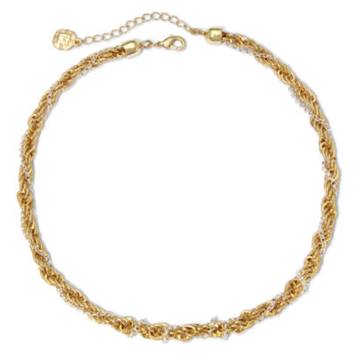 Monet® Two-Tone Twisted Rope Necklace