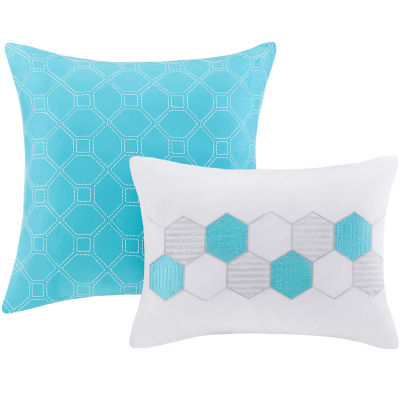 Intelligent Design Zara Geometric Quilt Set