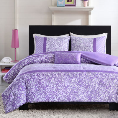 Mi Zone Sadie Floral Comforter Set