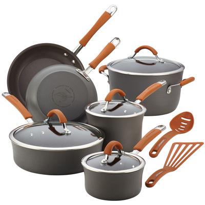 Rachael Ray® Cucina 12-pc. Hard-Anodized Cookware Set