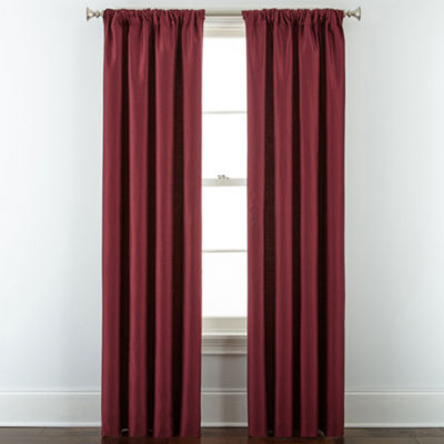 Royal Velvet® Supreme Lined Rod-Pocket/Back-Tab Curtain Panel