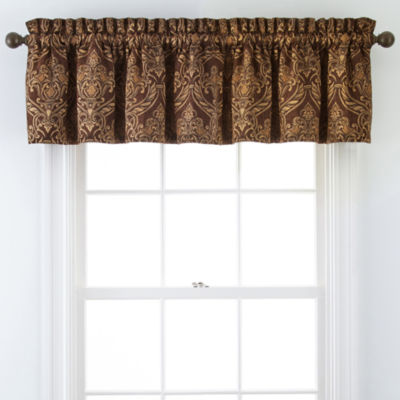 Royal Velvet® Lombardy Rod-Pocket Tailored Valance