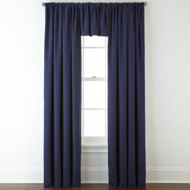 jcpenney.com | JCPenney Home™ Jenner Cotton Twill Rod-Pocket/Back-Tab Window Treatments