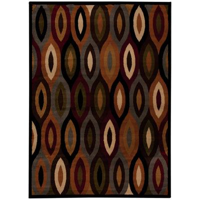 Nourison® Ariel Geometric Rectangular Rug