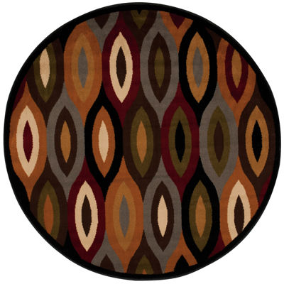Nourison® Ariel Geometric Round Rug