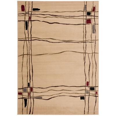Nourison® Wavy Line Rectangular Rug