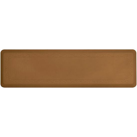 "Smart Step® Fleur-De-Lys Series 72x20"" Anti-Fatigue Mat"