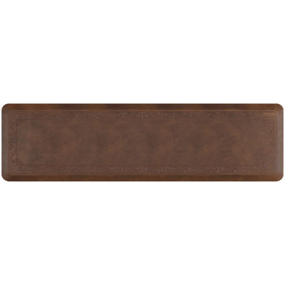 "Smart Step® Fleur-De-Lys Rustic Series 72x20"" Anti-Fatigue Mat"