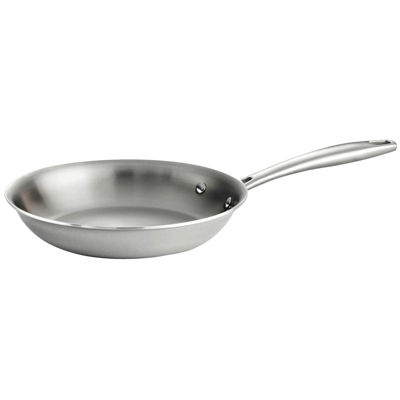 Tramontina Gourmet Tri-Ply Clad Stainless Steel Induction-Ready Fry Pan