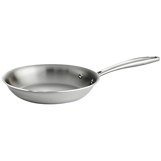 Tramontina Gourmet Tri Ply Clad Stainless Steel Induction Ready Fry Pan