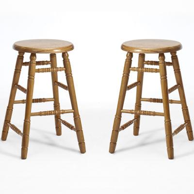 Oakmont Set of 2 Backless Barstools