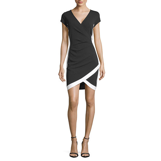 Almost Famous-Juniors Sleeveless Bodycon Dress