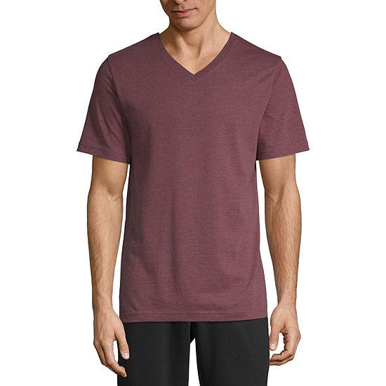 Xersion Mens V Neck Short Sleeve T-Shirt