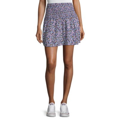 Arizona Womens Short Pleated Skirt Juniors