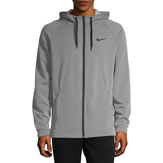 Nike Mens Long Sleeve Moisture Wicking Hoodie