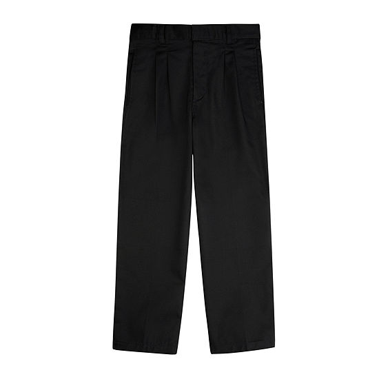 French Toast® Twill Double-Knee Pleated Pants - Boys 4-7