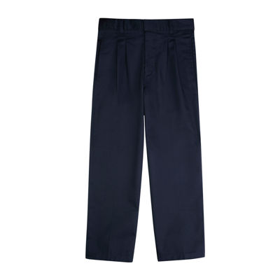 French Toast® Twill Double-Knee Pleated Pants - Boys 8-20 and Husky