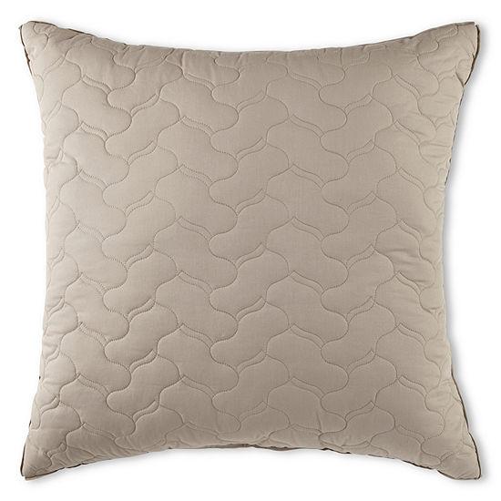 Liz Claiborne® Plum Garden Euro Pillow