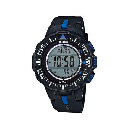 Casio® Pro Trek Tough Solar Triple Sensor Mens World Time Watch PRG300-1A2CR
