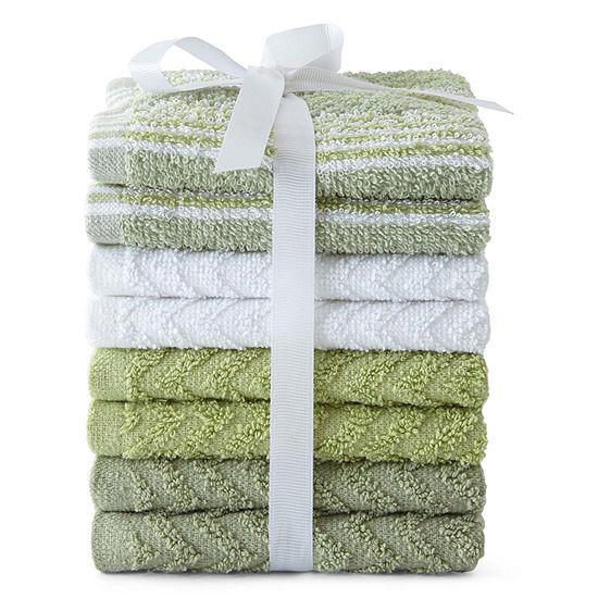 Home Expression 8-pk. Washcloth Set