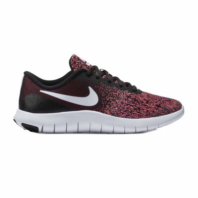 Nike Flex Contact Girls Running Shoes - Big Kids