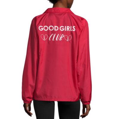 """Good Girls Club"" Windbreaker- Juniors"