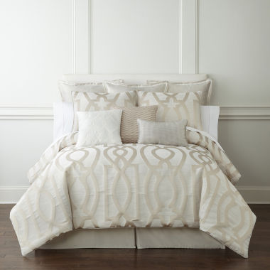 jcpenney.com | Liz Claiborne® Raleigh 4-pc. Comforter Set & Accessories