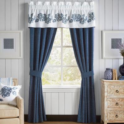 Croscill Classics Clayra Rod-Pocket Curtain Panel