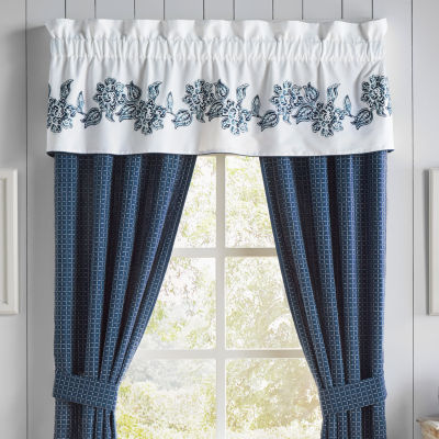 Croscill Classics Clayra Rod-Pocket Tailored Valance