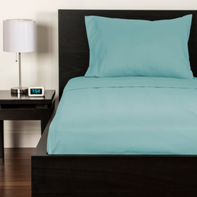 Crayola Robin's Egg Blue Microfiber Sheet Set