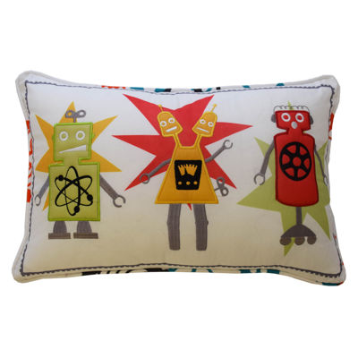Waverly Robotic Rectangular Throw Pillow