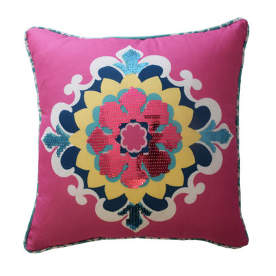 Waverly Bollywood Square Throw Pillow