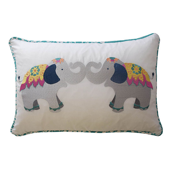 Waverly Bollywood Rectangular Throw Pillow