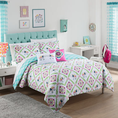Waverly Bollywood Reversible Comforter Set