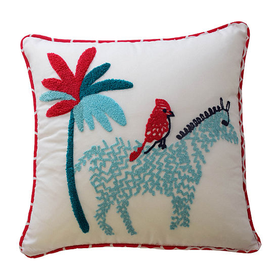 Waverly Reverie Square Throw Pillow