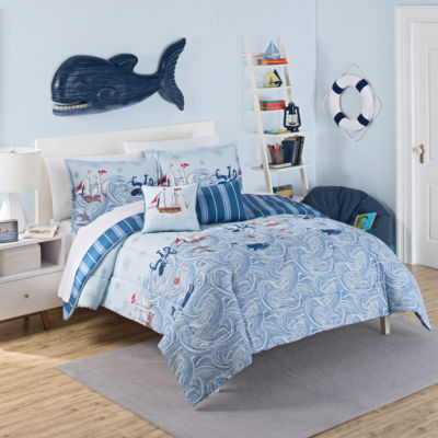 Waverly Ride The Waves Reversible Comforter Set