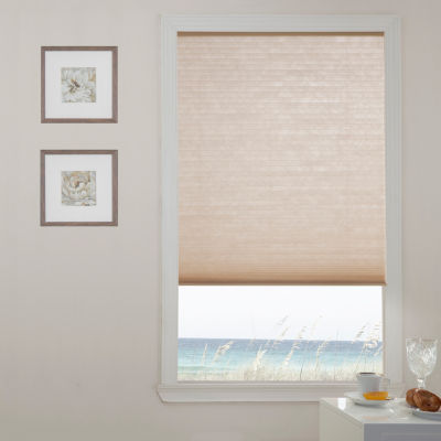 "Liz Claiborne ⅜"" Single Cell Custom Cordless Light-Filtering Cellular Shade"