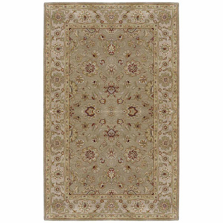 Decor 140 Justinian Hand Tufted Rectangular Indoor Rugs, One Size , Brown