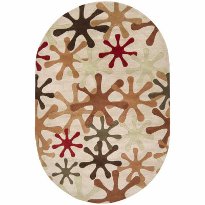 Decor 140 Merlanna Hand Tufted Oval Rugs