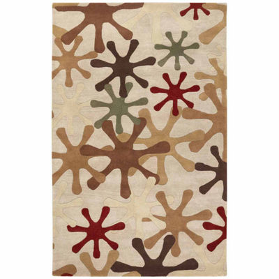 Decor 140 Merlanna Hand Tufted Rectangular Indoor Accent Rug