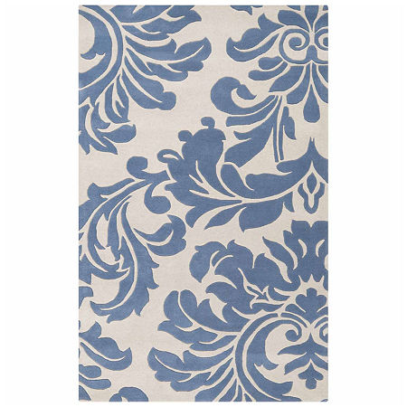Decor 140 Vlore Hand Tufted Rectangular Indoor Rugs, One Size , Blue