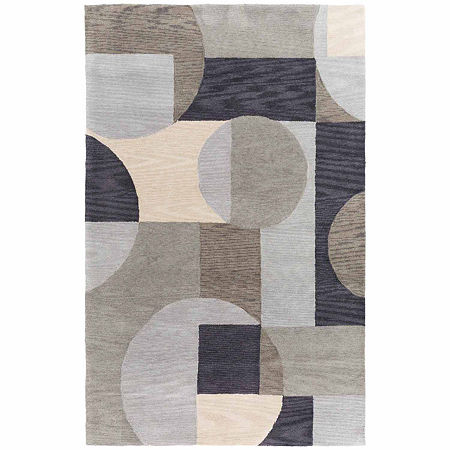 Decor 140 Shaan Hand Tufted Rectangular Indoor Rugs, One Size , Brown