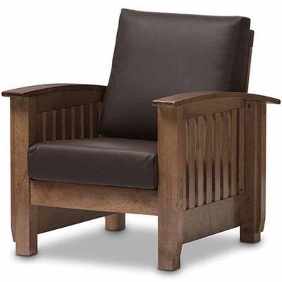 Baxton Studio Charlotte Club Chair