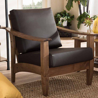 Baxton Studio Pierce Club Chair