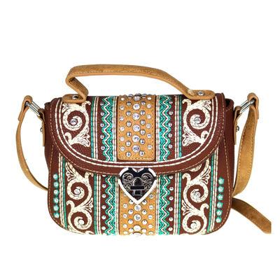 Montana West Anna Embroidery Crossbody Bag