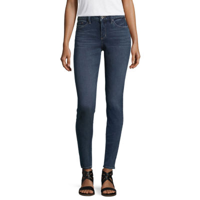 a.n.a Women's Mid Rise Skinny Jean