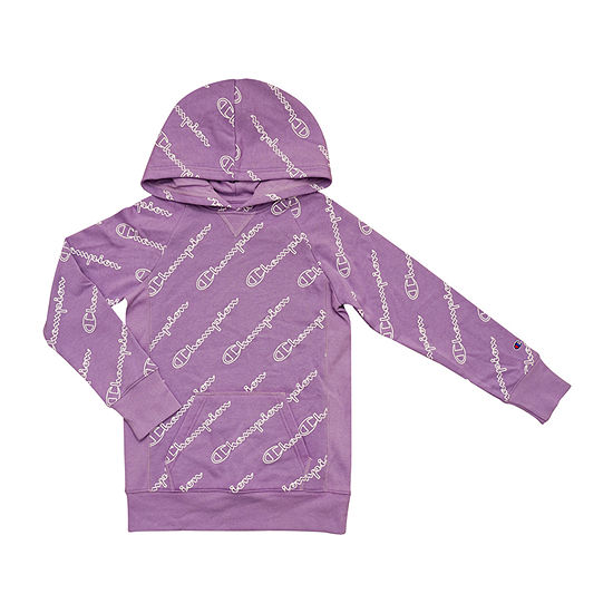 Champion Girls Raglan Sleeve Hoodie - Big Kid