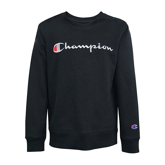 Champion Core Embroidered Crew Boys Hoodie-Big Kid