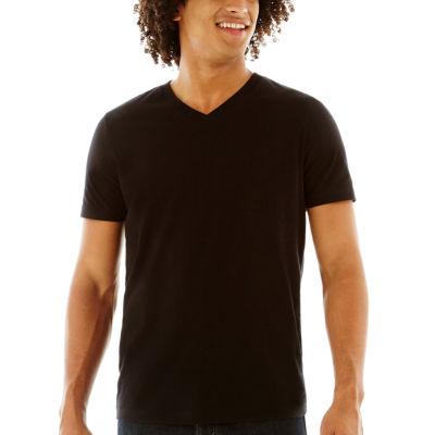 Arizona Mens V Neck Short Sleeve T-Shirt